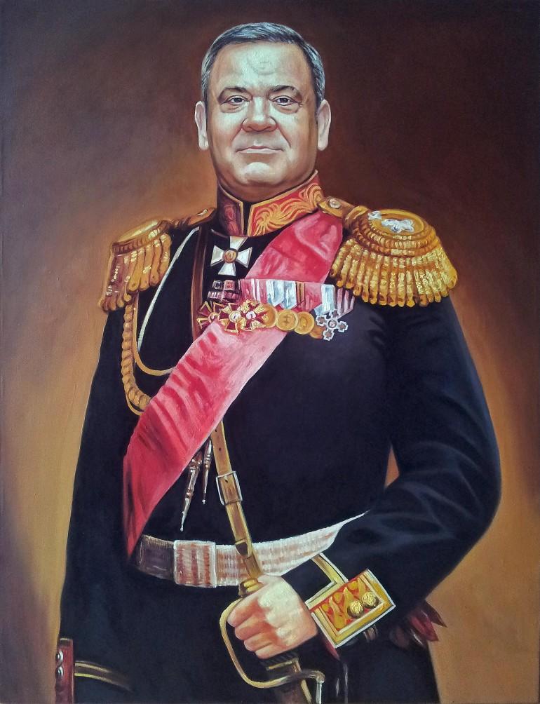 Где заказать портрет маслом в Сургуте?