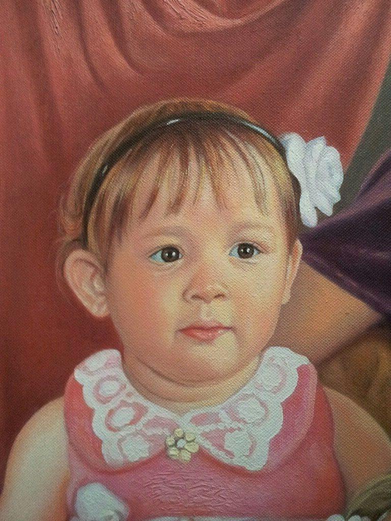 Портрет маслом семейный Сургут