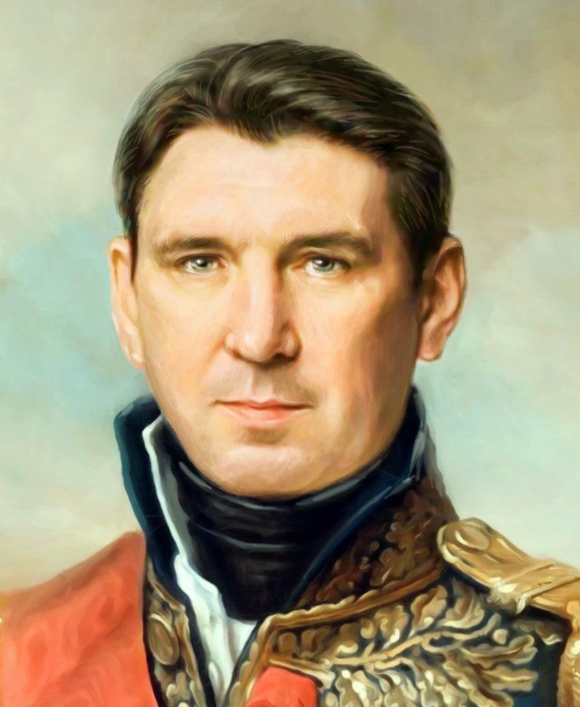 портрет по фото на холсте в подарок Сургут
