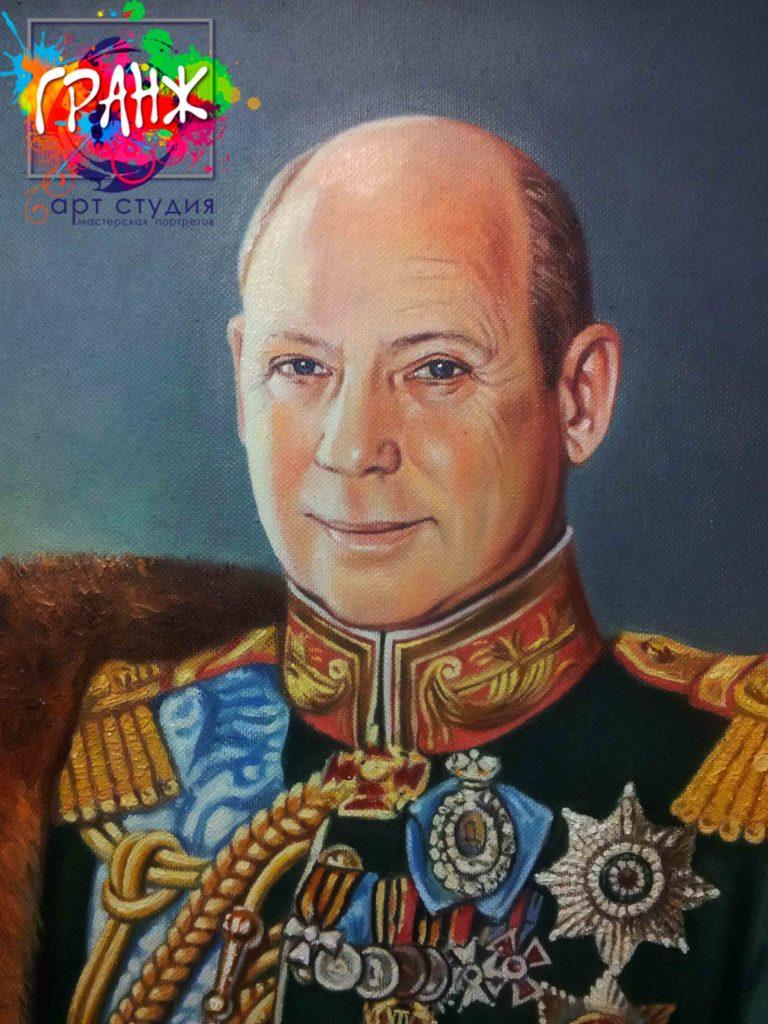 Заказать портрет маслом в Сургуте