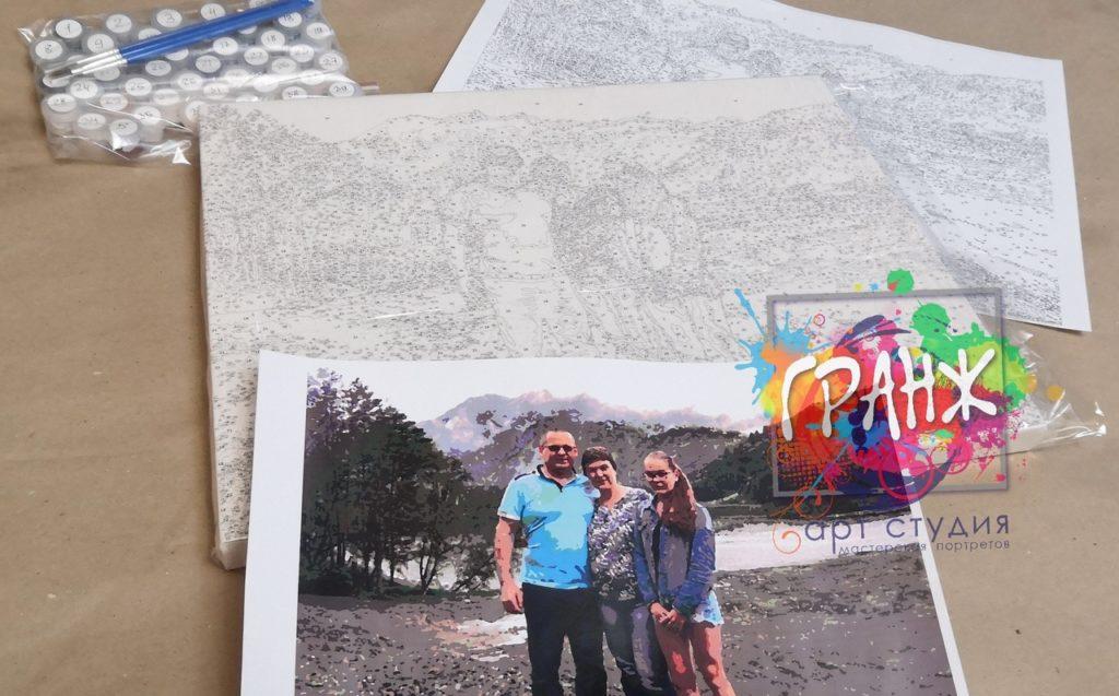 картин по номерам на холсте по фото в Сургуте