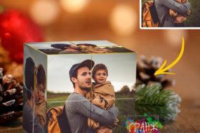 Фотокубик трансформер, купить в подарок Сургут