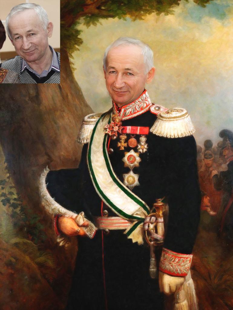 Где заказать исторический портрет по фото на холсте в Сургуте?